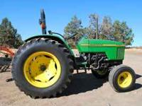 We have a 1995 John Deere 5300 Tractor, 1955 hours, 55