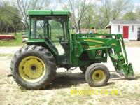 john deere 5310 with self levling loader everything