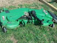 "For sale: John Deere 54"" mower deck for 4100, 4110 or"