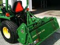 For Sale: John Deere 550 Rototiller in excellent