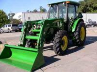 Up for sale is my John Deere 5525 CAB Tractor