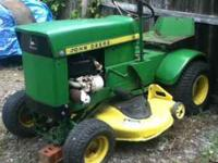 John Deere 60 $400 Or best offer Run when parked  Leave