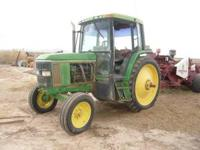 JD 6400 tractor - $10,500 OBO or trade -tractor runs