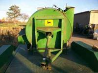 JOHN DEERE 65 FORAGE BLOWER, 540 PTO, NEW BLOWER BAND 2