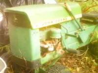 john deere model 70 lawn tractor engine turns over but