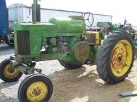 For sale John Deere 70 tractor, new front tires, new