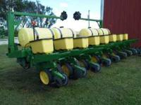 "John Deere 7000 Planter. 8 row 30"" spacing. Liquid"