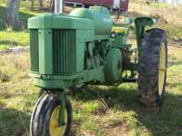 I have a John Deere 70LP propane gas tractor, it has