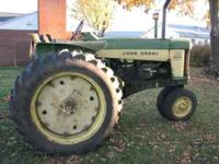 JD 730 DIESEL, ELECTRIC START, SOUND TRACTOR,RUNS GOOD