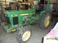 This tractor will be sold Sat October 22, 2011 at