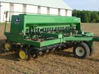 John Deere 750 Grain Drill , 1994 model, Recent