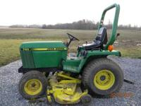 This is a John Deere 755 with only 918