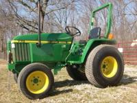 2000 model John Deere 770, In Great Condition. 3cyl