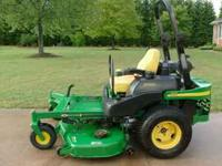JOHN DEERE 777 ZERO TURN COMES WITH THE 7 IRON 60 INCH