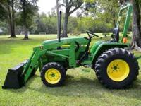 John Deere 790 Diesel Tractor, 30 Horse Power, 4 Wheel