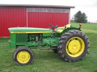 1969 John Deere 820, 3 cylinder diesel with 5413 hrs.