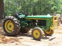 1976 35HP JOHN DEERE 830, PTO, 3PT HITCH, RUNS GOOD,