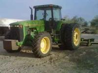For Sale, John Deere 8300 Tractor with MFWD. Has