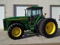 2000 John Deere 8410, 265 Hp, Powershift, Firestone
