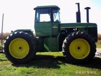 used john deere 8440 for sale. Runs good,no damage it