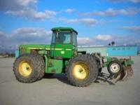 John Deere 8450 Just been serviced and has cold A/C.