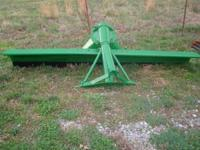 John Deere 9' Back Blade. Completely adjustable - back