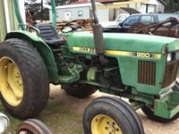 Used John Deere 950 Tractor Call  Mon thru Fri
