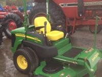 "John Deere 997 72"" cut diesel zero turn mower call 1-"