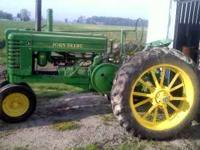 Style 38 John Deere A Good Tread 2000 OBO  Location: