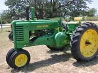 Good Running Tractor John Deere A Call  for more