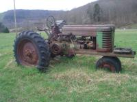 approx 1940. Sheet metal good. Motor stuck but dry
