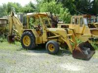 1974 JD 500-C 2wd Loader and Backhoe, about 3500 hours,
