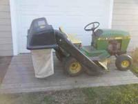 I have a John Deere bagger for sale. It is a 111 but