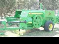 John Deere Baler Model #348. $13,500 - OBO. A like new