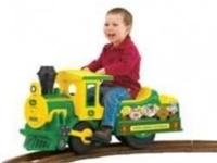 TBEK35494 JOHN DEERE TRAIN 6 VOLT BATTERY OPERATED RIDE