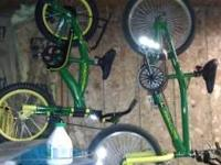 to brand new john deere bikes rode once 12 inch 75.00