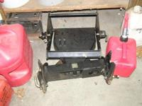 "300 series garden tractor 54"" quick hitch blade and"