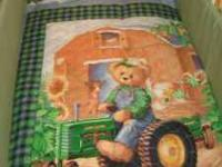 John Deere Boys Crib Set This is a one of a kind item