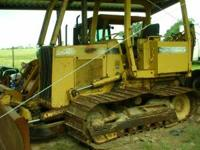 1994 John Deere Bulldozer 450-G, with a 6-way