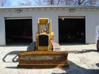 I have a John Deere 450C Dozer For sale. It has a 7'6""