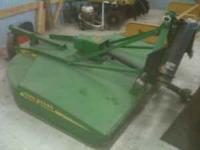 John Deere MX-6 bush hog excellent condition $1500.