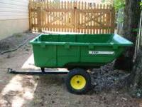 I'm selling my John Deere 17P dump cart. It is in good