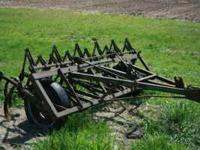 John Deere CCA 8FT Hydralic Lift Cultivator Please Call