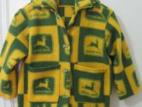 John Deere Childs Fleece Hooded Jacket appears to be