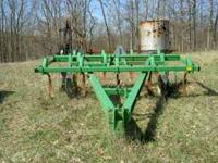 John Deere 1710 9 shank chisel plow. VERY heavy built.