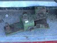 FOR SALE IS A DRAWBAR WITH A PIN FOR A JOHN DEERE
