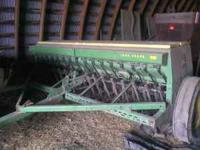 JOHN DEERE DRILL FOR SALE - ALWAYS BEEN SHEDED AND