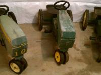 I have a quantity of three (3) Classic John Deere Model