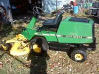 NICE MOWER, KAWASAKI ENGINE 48'' DECK, RUNS & MOWES