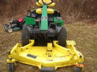 real nice f935 mower with only 301 hrs showing on the